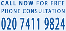 Call 020 7411 9824 now for free consultation!